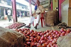 vashi market onions sell at 50 paise per kg