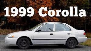 1999 toyota corolla reliability regular car reviews 1999 toyota corolla ce
