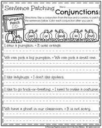 october first grade worksheets worksheets sentences and