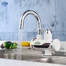 chauffage cuisine 220 v 3000 w chauffe eau électrique led numérique cuisine robinet