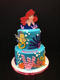 the little mermaid cake my cakes pinterest