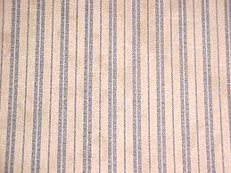 Blue Ticking Curtains Bj S Country Charm Primitive Blue Ticking Tea Stained Swag Curtains