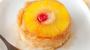 boozy mini pineapple upside cakes recipe bettycrocker com
