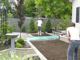 Landscaping Backyard Ideas Privacy Landscaping Ideas For Small Backyards The Garden