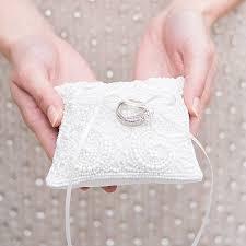 ring pillow white beaded miniature wedding ring pillow weddingstar