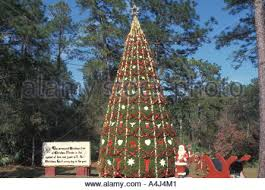 Decorate Christmas Tree All Year by Christmas Tree Decorated At Town Of Christmas Florida Where The