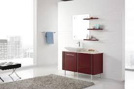 Cloakroom Furniture Vanity Units Freestanding Red Vanity Modern Bathroom Vanity Units And Sink