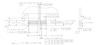 Standard Invitation Card Sizes Footprint Pin Dimensions On Pci Express Card Edge Electrical
