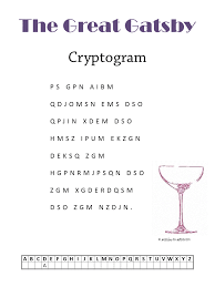 the great gatsby cryptogram