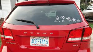 Dodge Journey Reviews Australia Family Stickers Family Car Stickers