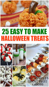 Easy Halloween Party Food Ideas For Kids 25 Halloween Treat Ideas For Kids And Adults Alike