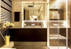 bathroom tile decorating ideas extravagant bathroom decorating ideas with black floating vanity