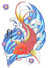 Japanese Fish Flag Free Tattoo Flash Art To Print Free Download Clip Art Free