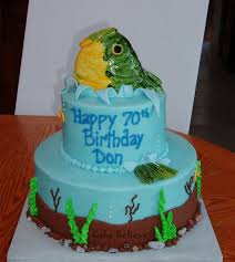 easy fishing cake idea fish so when they see the first cake