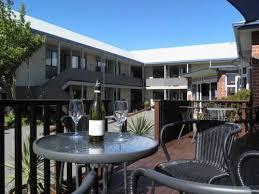 Patio Motor Court Centennial Court Motor Inn Alexandra New Zealand Overview