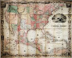 Map Of West Indies Globalization Of The United States 1789 1861 Colton G