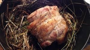 cuisiner une selle d agneau selle d agneau cuite au foin recette par cuisine