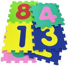 tappeti puzzle per bambini atossici vitamina g 05094 mattonelle puzzle numeri 9 pezzi it