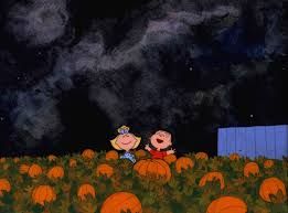 halloween dance party background linus and sally mistake snoopy for the great pumpkin