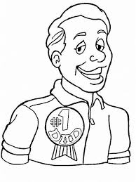 coloring pages for dad on father u0027s day family holiday net guide