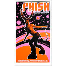 phish 1998 new year u0027s eve nyc poster u2013 ames bros