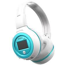 headband mp3 original zealot b570 stereo wireless headset bluetooth headphone