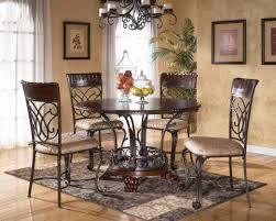 Circle Glass Table And Chairs Large Round Dining Room Table And Chairs Wood Glass Seats Tables