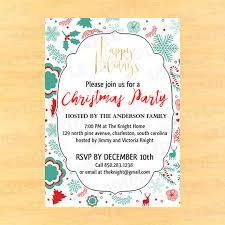 christmas lunch invitation christmas lunch invitation templates christmas party invitations