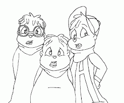 12 impressive alvin chipmunks coloring pages fun