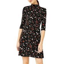 dress pattern john lewis warehouse barbican granite pattern dress black multi at john lewis
