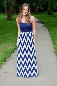chevron maxi dress nautical chevron maxi dress 2016 2017 b2b fashion