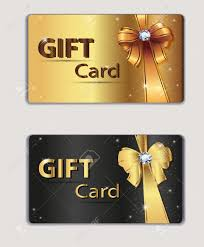 gift card business gift coupon gift card discount card business card gold and