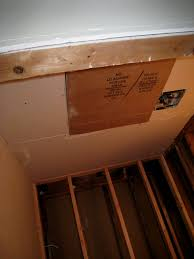 how to install a bathroom fan without attic access best office