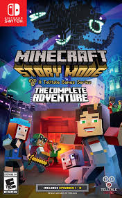 amazon com minecraft story mode the complete adventure