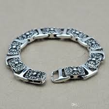 sterling silver bracelet men images 2018 gz 925 sterling silver bracelet men jewelry classic cross jpg
