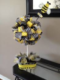 bumble bee decorations black and yellow paper garland graduation decorations bumble bee