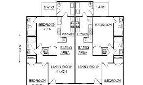 23 genius floor plan for duplex house house plans 81860