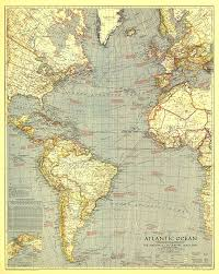 Map Of Oz Atlantic Ocean Map