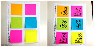 addition with regrouping tips tricks and strategies just reed