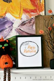 Happy Halloween Printable by Happy Halloween Free Halloween Printables Oh My Creative