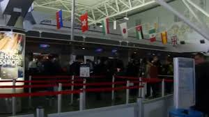 Jfk Terminal 8 Map Jfk Airport New York Terminal8 Departure Youtube