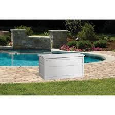 resin deck box white 50 gallon white suncast target