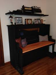 This Old House Entry Bench 20 Creative Old Piano Repurposing Ideas Entryway Bench