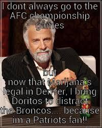 Patriots Broncos Meme - patriots vs broncos quickmeme