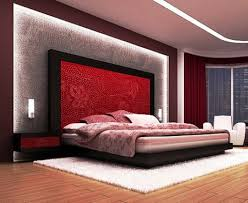 red color in bedroom feng shui black sectional fur rug white frame