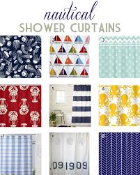 Nautical Shower Curtains Top 9 Nautical Shower Curtains Designlively