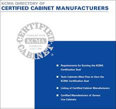 kcma cabinets replacement parts ansi approves kitchen cabinet manufacturers association for