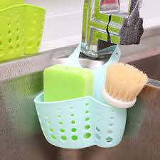 Saddle Style Double Sink Caddy Kitchen Organizer Storage Sponge - Kitchen sink sponge holder