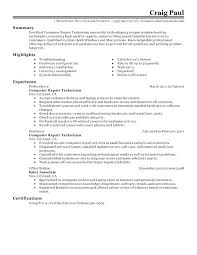 technical resume templates general service technician resume arieli me