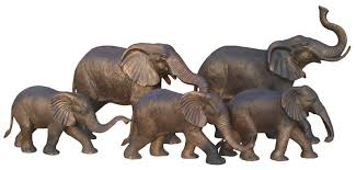 elephant statue outdoor metal bronze baby elephant family statues for sale buy